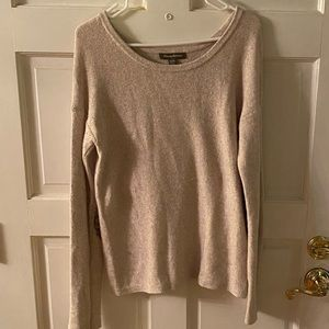 Tommy Bahama sequin elbow patch sweater